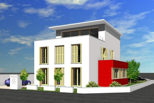 Neubau Prinzessinweg - Visualisierung